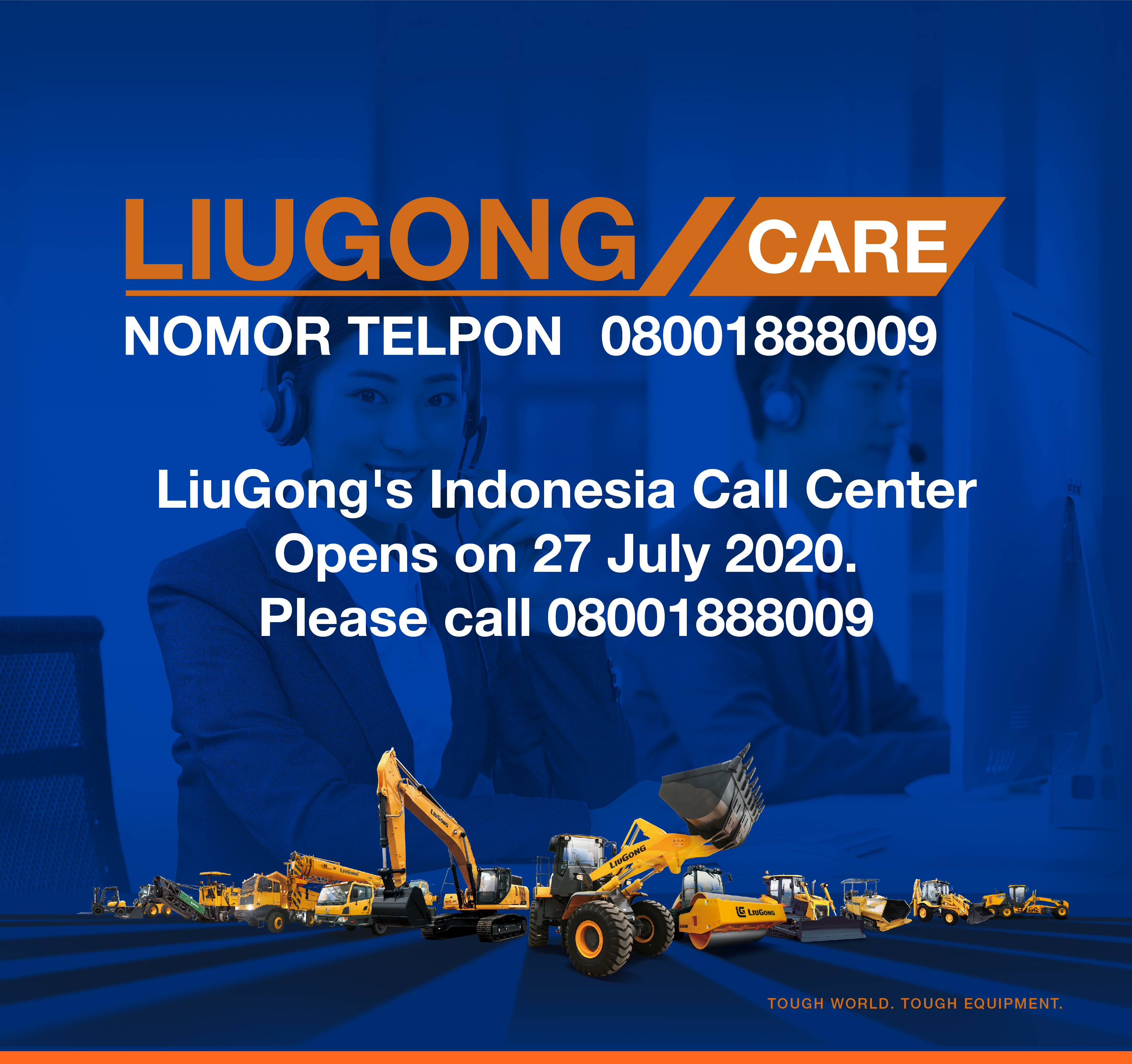 Service Hotline Launched in Indonesia